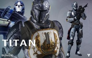 Destiny Titan tribute by blamoman