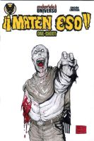 The Zombie with no name sketch cover by mdavidct
