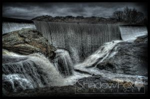 Manorbourne Dam by shadowfoxcreative