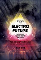 Electro Future Flyer by styleWish