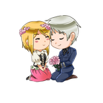 (COMMISSION) Prussia/Nyo! Poland by SmartasticalArt