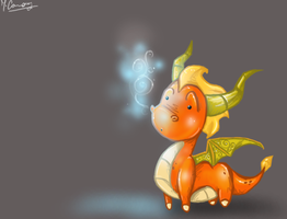 Chibi Flame by artisteviolet