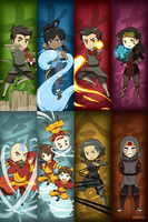 Legend of Korra Chibi Things by shihfu