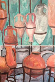 Amphoras and Pots by MihneaCernat