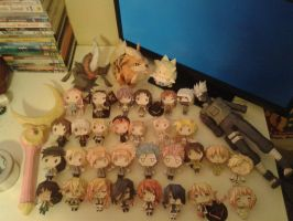 All my papercraft...so far wahahaha by groncaloncia