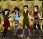 Pixie Scene Maker: Legend of Korra by moonprincess22