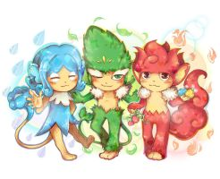 Pokemon: The Three Monkeys