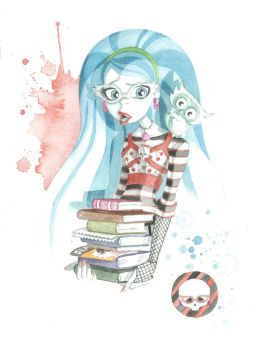 Monster High Commission: Ghoulia Yelps by JAWart728
