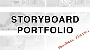 Storyboard Portfolio - WIP by larkinheather