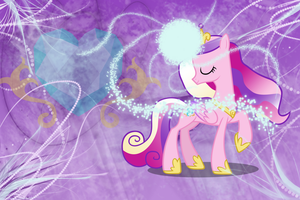 Princess Cadence Wallpaper by Vaileaa