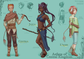 Aefans of Central Kingdom by Kaorien
