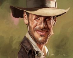 Henry (Indiana) Jones Jr. by DevonneAmos