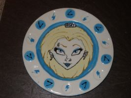 Zombie Girl Plate 07 Front by Gummibearboy