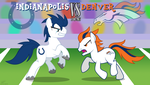 Indianapolis VS Denver - MLP:FiM Style by PonyChaos13