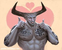The Iron Bull approved! by ynorka