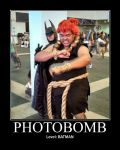 Photobomb Level: Batman by Dark-Elf-Kana