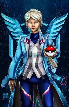 Blanche- Team Mystic by MaeMaeTwin