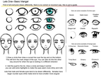 Basic Manga Eye Tutorial updated by hoshi-kou