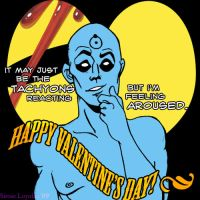 Watchmen Valentines: Manhattan by sirose