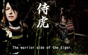 Tiger Warrior by hamsterchan155