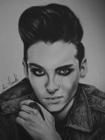 Bill Kaulitz for Saturn by anokaxlegolas