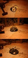 Penny the Gear Mouse by turnerstokens