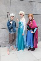Jack, Elsa and Anna by Ta-moe