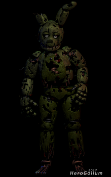 Springtrap 16.0 - Cinema 4D by HeroGollum
