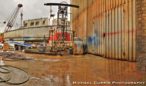 Boat workshop pano HDR II by TheSoftCollision