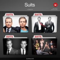 Suits Premium TV Folders by iconshow