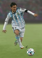 Messi by pablofdezr