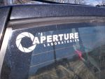 Aperture Labs Sticker by pencilboy2hb