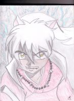 My Inuyasha Drawing by Yuki66