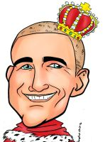 king caricature by raccoon-eyes