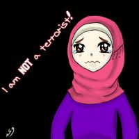 I am NOT a terrorist! by Waad-Hkf