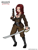 Anne Bonny - AC IV Black Flag by XaR623