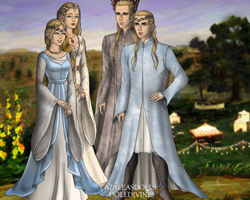 mirkwoods royal family by art-is-my-bream
