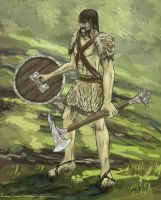 Barbarian by QTroubadour