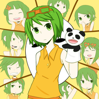 :GUMI: 10 faced by s-a-n-d-y
