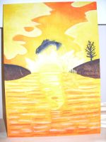 Wooden painting 0002 by Yorulla