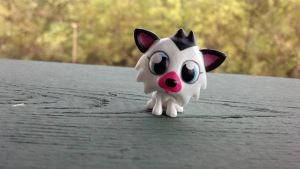 Moshi monsters white fang husky by Vesperwolfy87