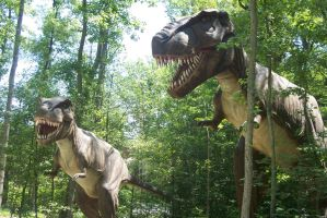 KD Dinosaurs Alive! T-Rexes by DinoLover09