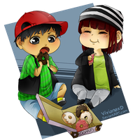 CommissionChibi 1 by Cuine