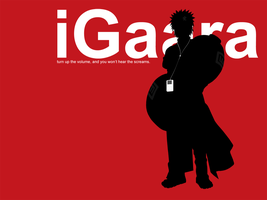 iPod Gaara by Toukijin