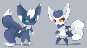 Meowstic by Bukoya-Star