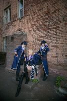 K Project - Scepter4 by AmethystPrince