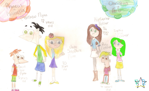 Phineas and Ferb Children. by Pinky1babe