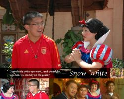 As I Know Her: Snow White by SantosPhillipCarlo