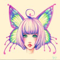Miss Butterfly by Pinjachi