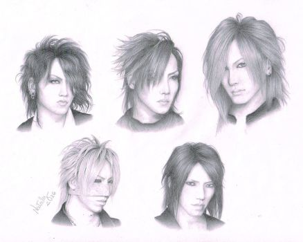 the GazettE by DoceSonho